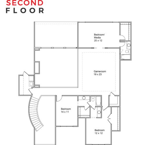 Astor-Plan-4386-Second-Floor