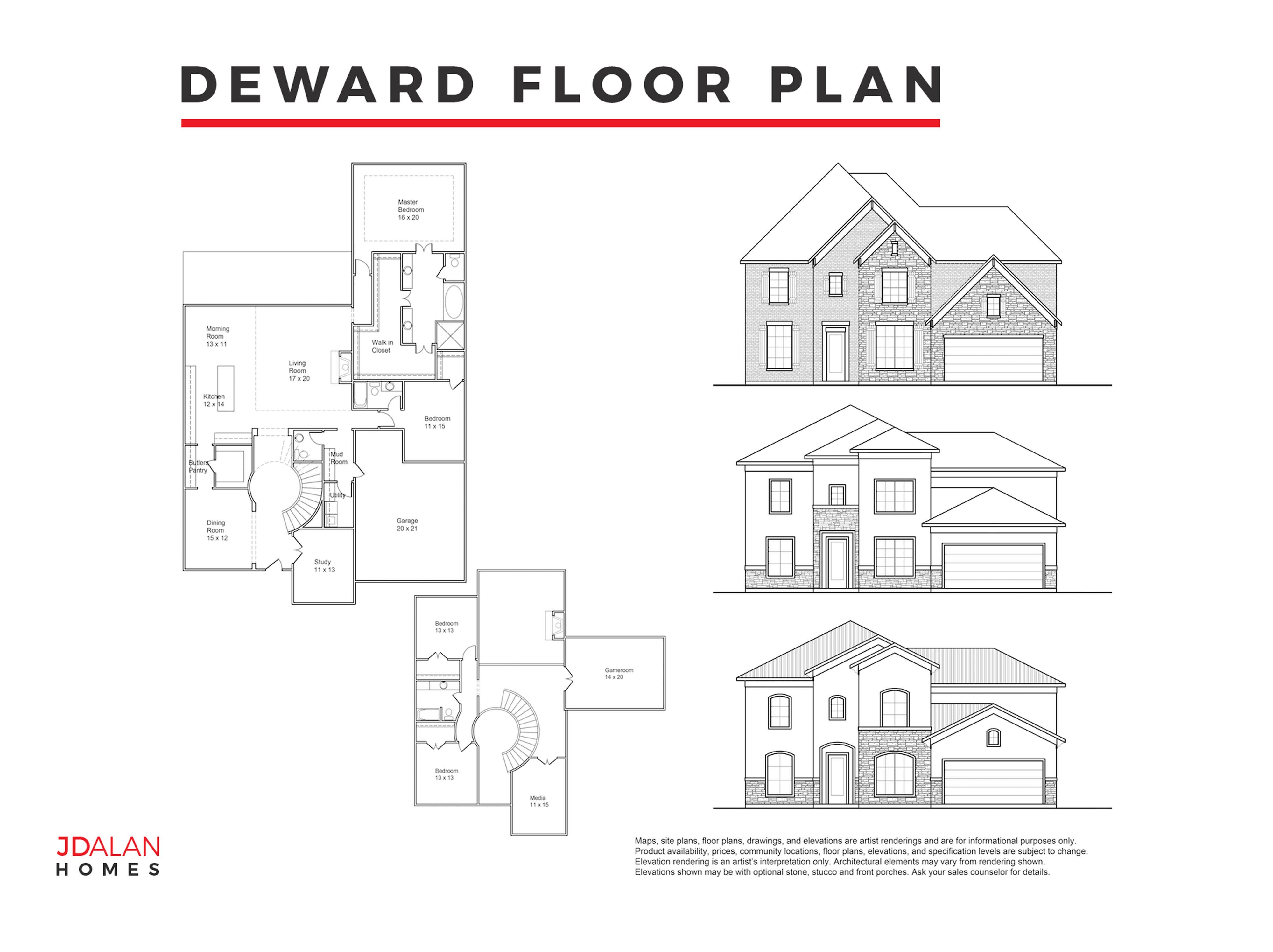 DEWARD FLOOR PLAN #3994