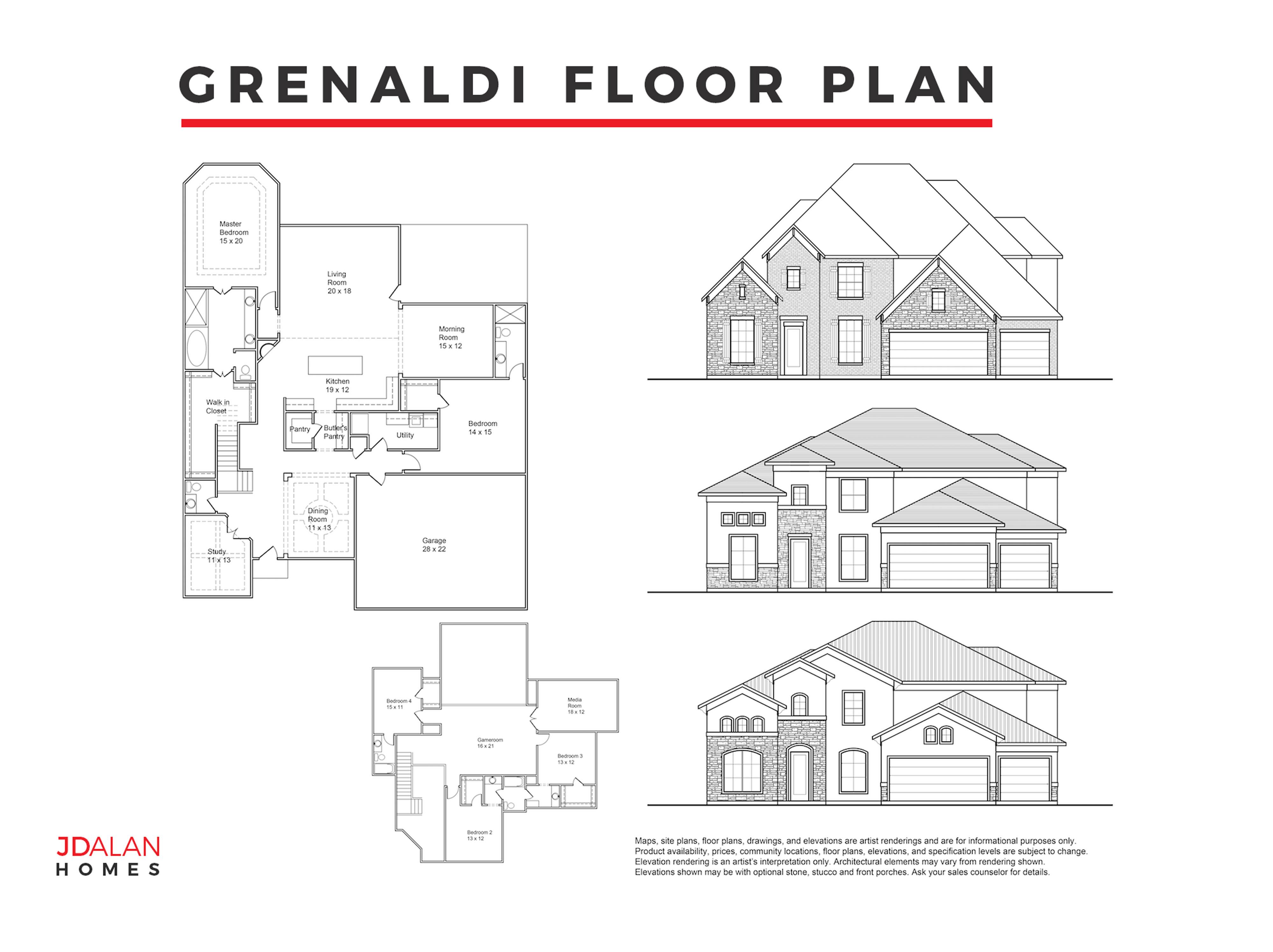 GRENALDI FLOOR PLAN #4211