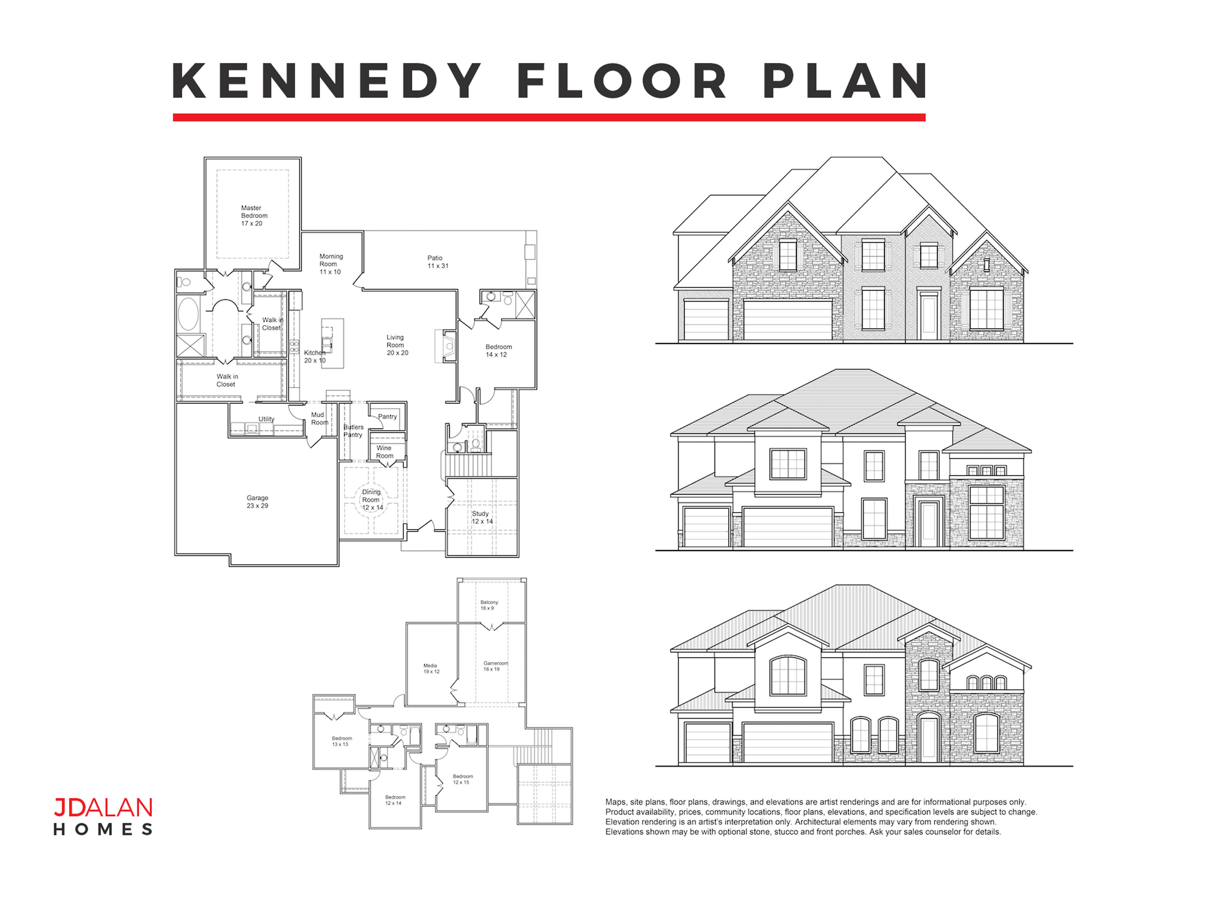 KENNEDY FLOOR PLAN #4539