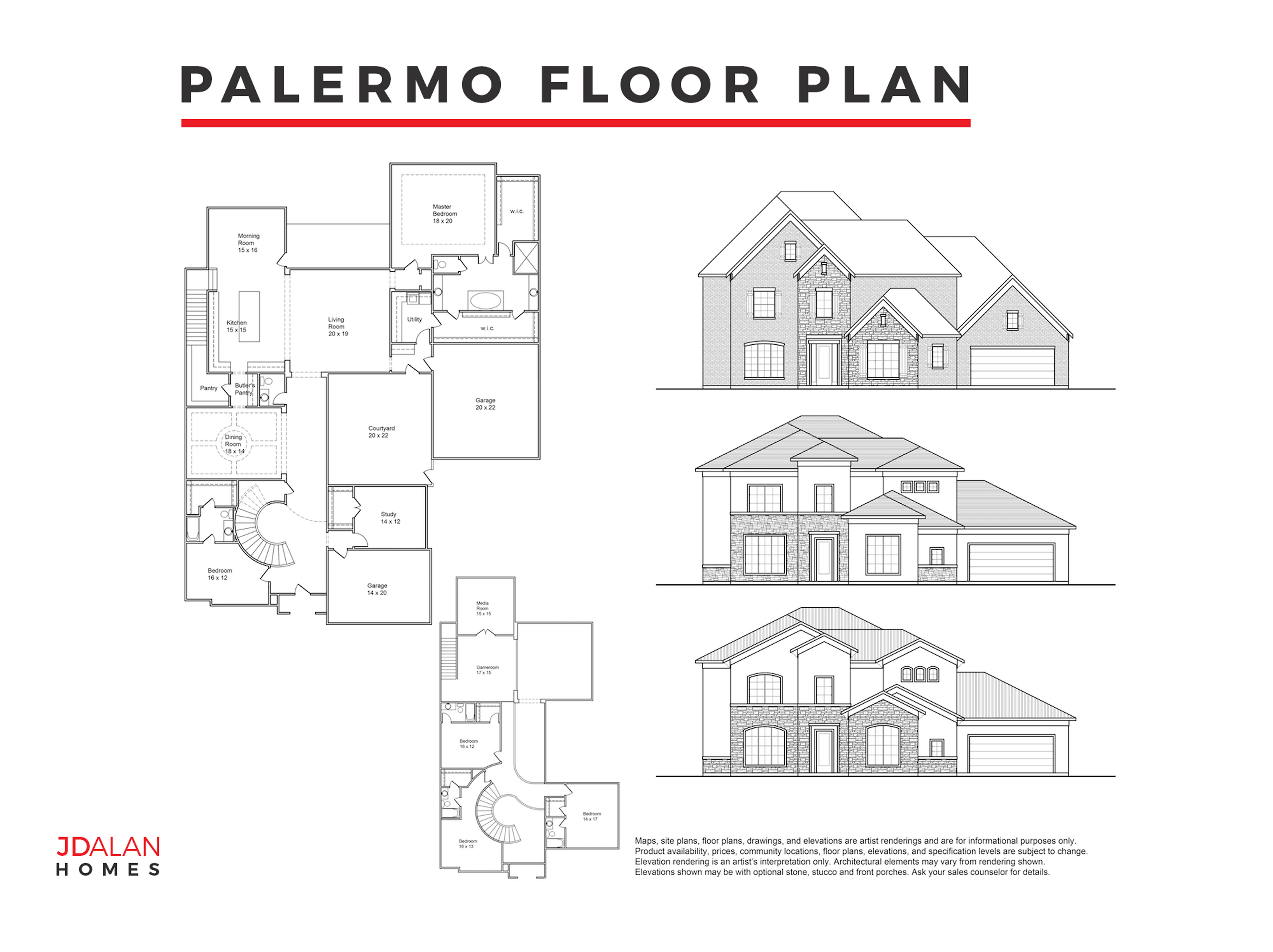 PALERMO FLOOR PLAN #5333